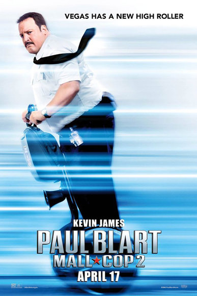 Paul Blart: Mall Cop 2 in theaters April 17, 2015 (giveaway ends 4/17/15)