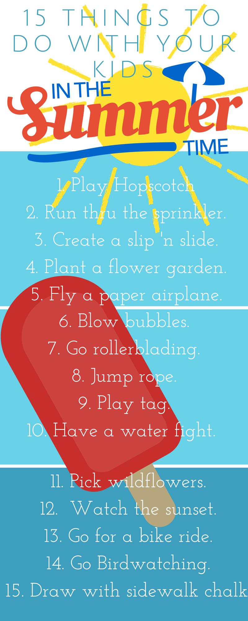 101 Summer fun ideas (1)