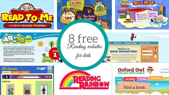 8 free reading websites for kids