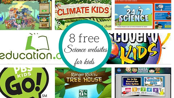 8 free science websites for kids