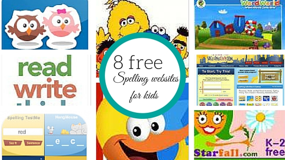 8 free spelling websites for kids