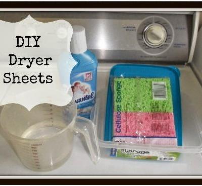 {DIY} Dryer Sheets