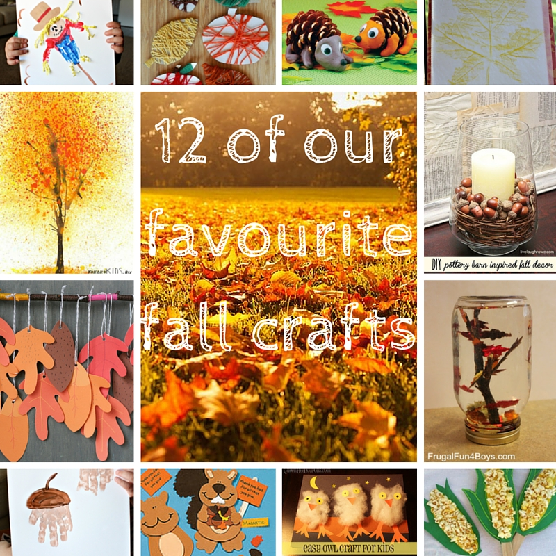 12 of our favourite fall crafts