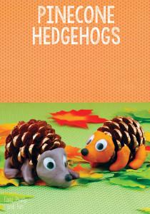 Pinecone-Hedgehogs