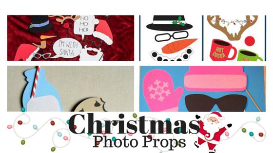 Christmas photo props