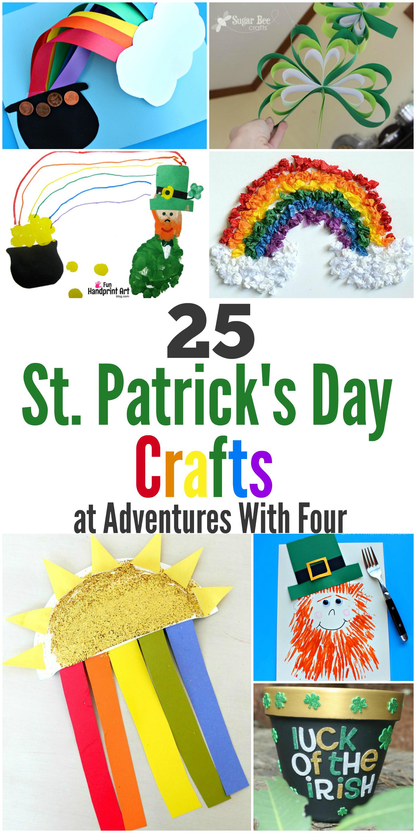 25 St.Patrick's Day Crafts
