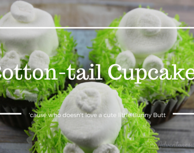 Hippity Hoppity, Cotton-tail cupcakes perfect for Easter