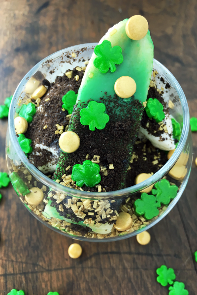Pot O' Gold Sundae perfect for St. Patrick's Day