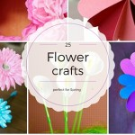 25 Flower Craft ideas perfect for spring