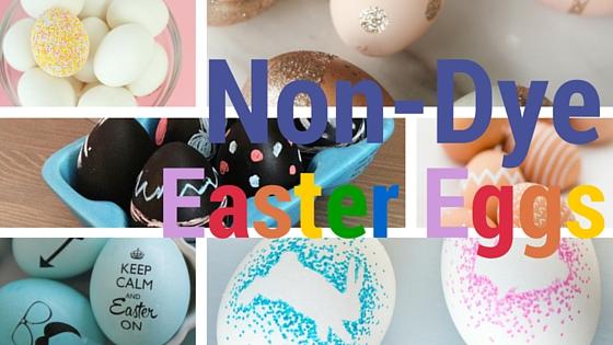 Non-Dye Easter Eggs