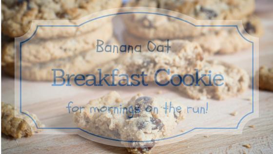 banana oat cookies