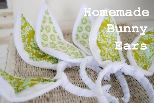 homemade bunny ears