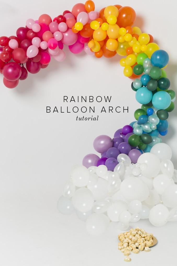rainbow-balloon-arch