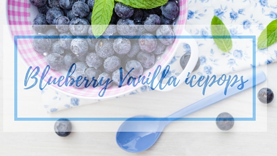 blueberry vanilla ice pops