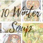 10 winter Soup Recipes