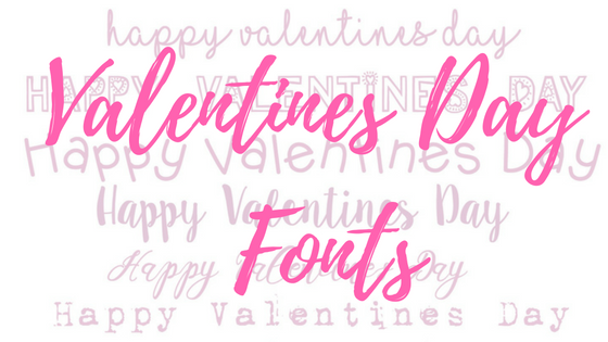 Valentines Day Fonts
