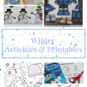 Winter Activities & Printables for preschoolers.