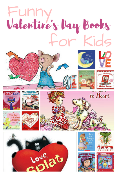 Valentine's Day Children's Books that will make your kids giggle!