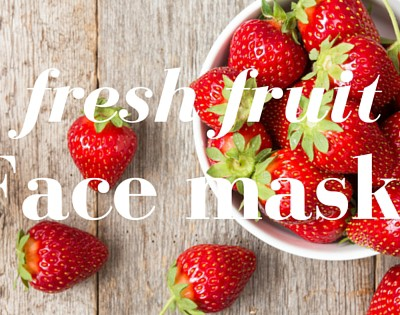 Fresh Fruit Face Mask