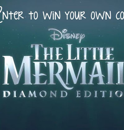 The little mermaid Diamond Edition Blu-Ray/DVD Giveaway