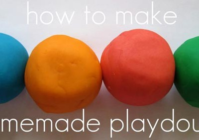Let's make homemade play dough