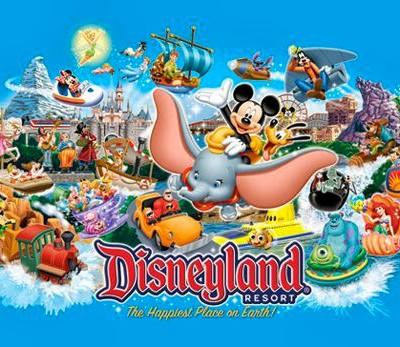 Disneyland letters