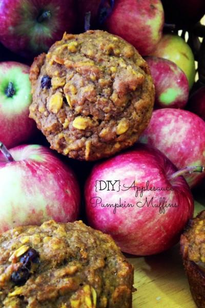 {DIY} Applesauce Pumpkin Muffin