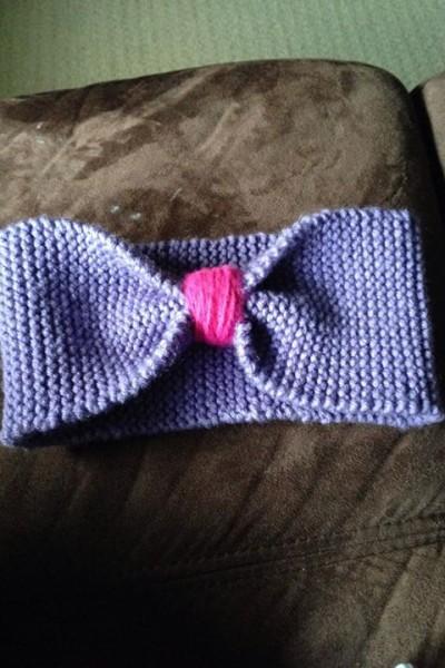 {How to make a knitted headband}..finally a pinterest success!