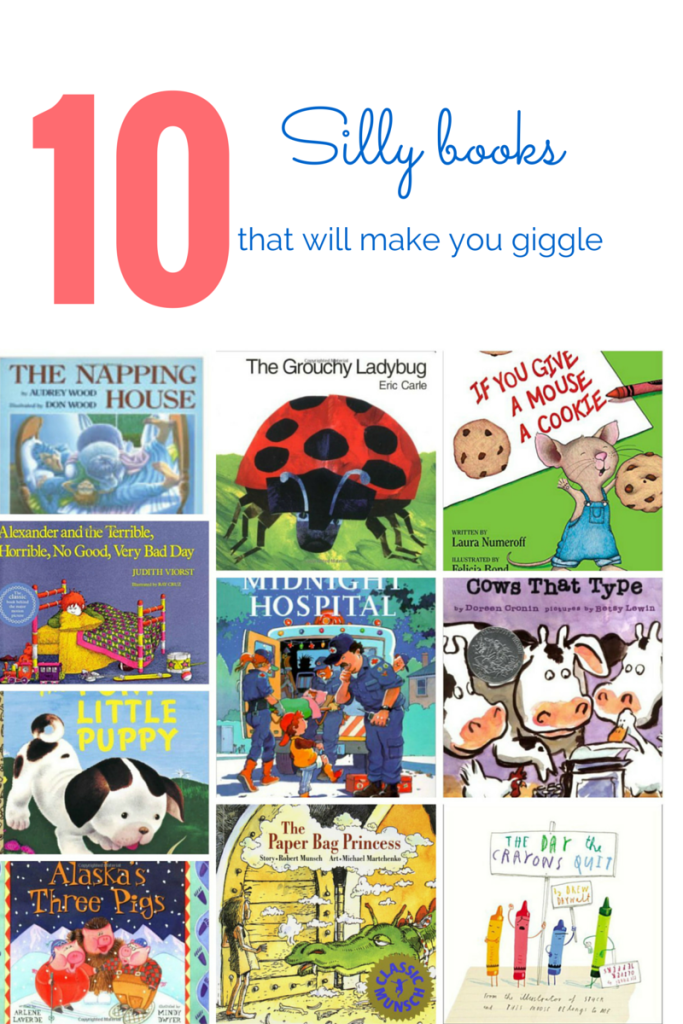 10 Silly Books that will make you giggle