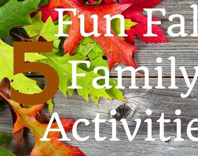 15 fun Fall Family Activities