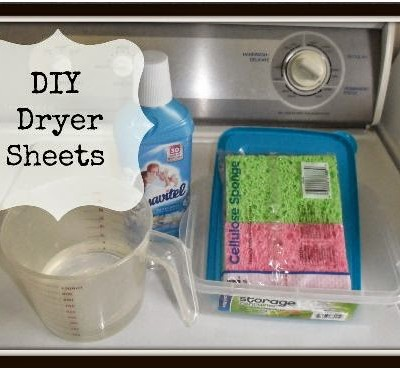 {DIY} Dryer Sheets