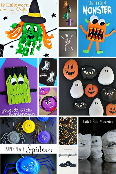 12 Easy Halloween Crafts for Kids