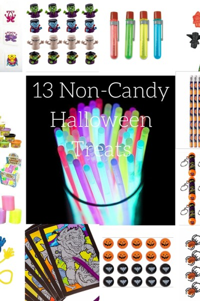 13 frightfully cute non Candy Halloween Treats