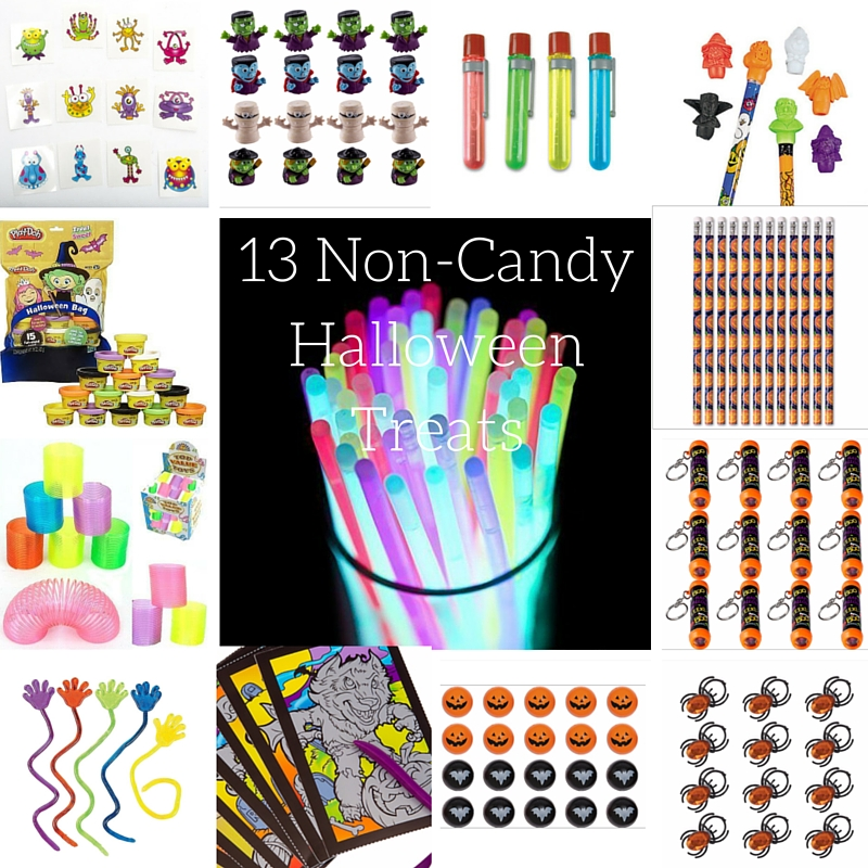 Non-Candy Halloween Treats