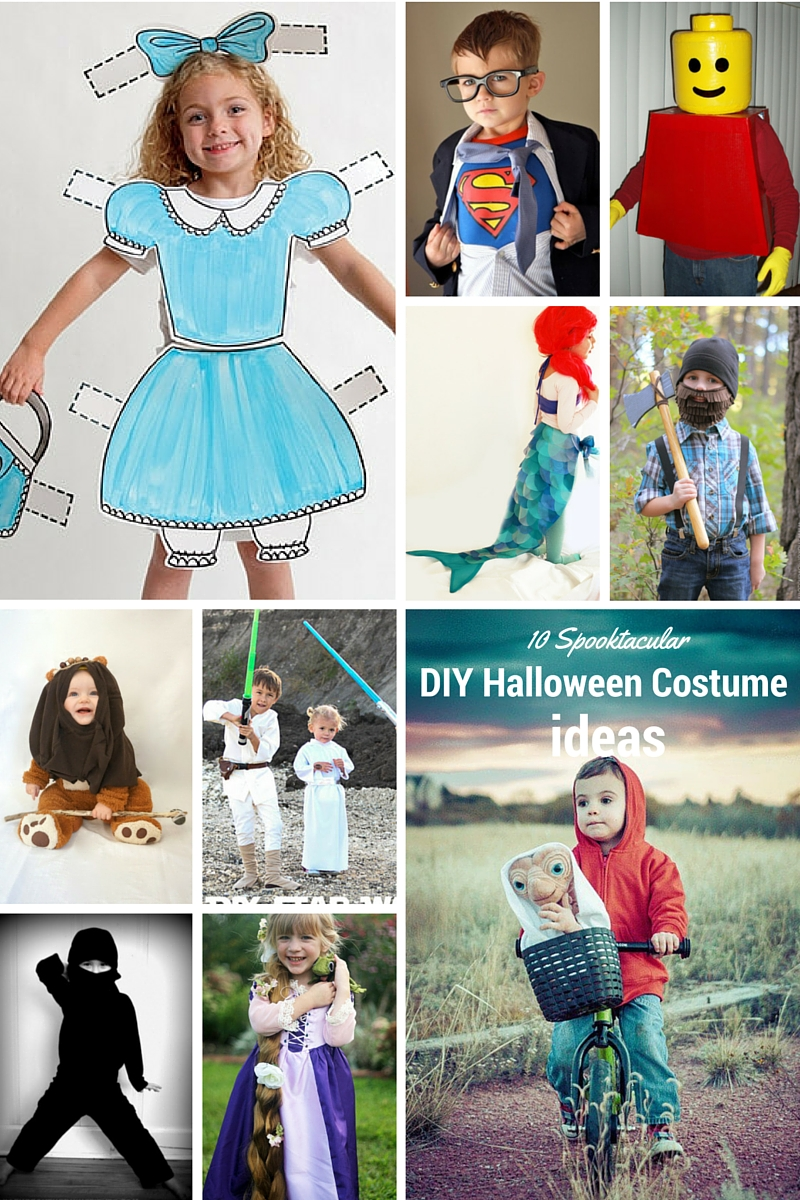 Spooktacluar DIY Halloween Costume Ideas