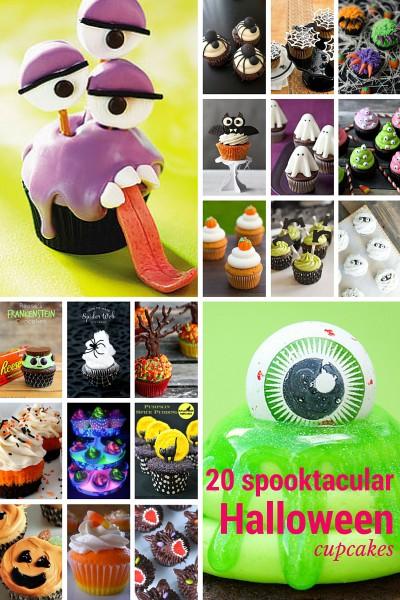 20 spooktacular Halloween Cupcakes