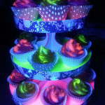 black-light-cupcakes