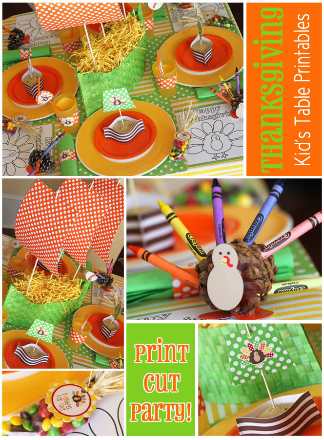 kids thanksgiving party