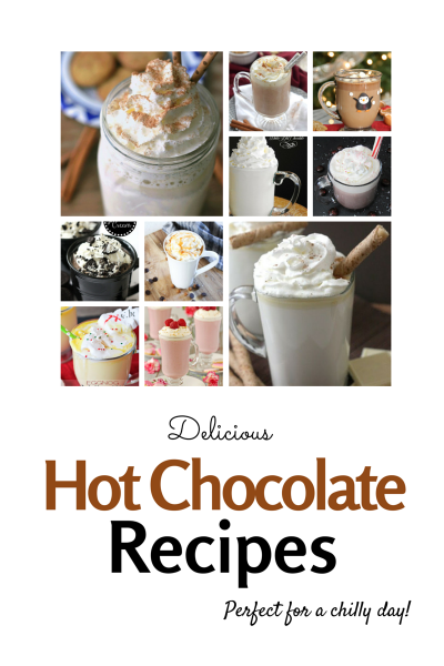 10 Delicious Hot Chocolate recipes to sweeten up the holiday season.