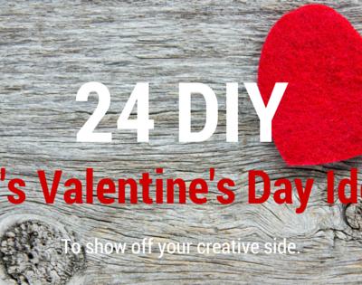 24 DIY Valentine ideas for kids