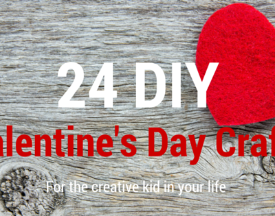 24 Valentine's Day Crafts you can do with your kids
