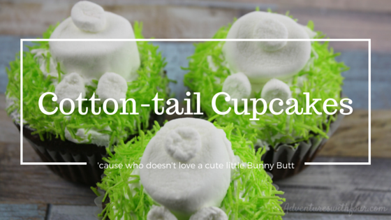 cotton tail cupcakes