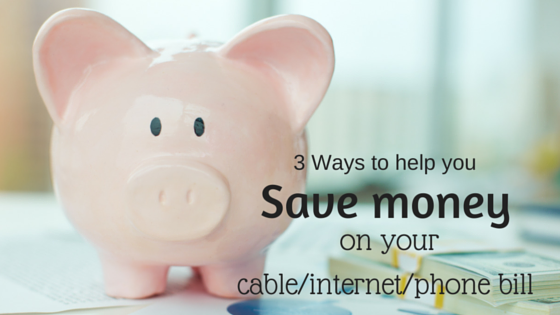 Save money on your cable-internet-phone bill