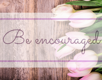 Be encouraged – what you are doing matters.