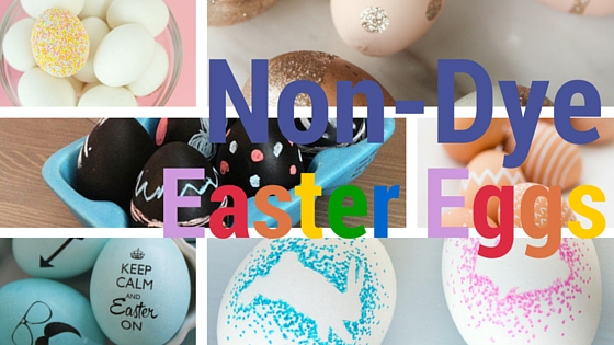 Non-Dye Easter Eggs