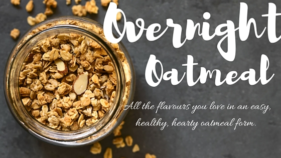 mason jar oatmeals