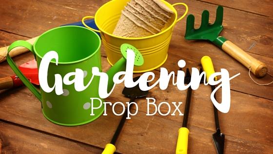 Gardening prop box