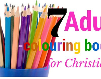 Adult Colouring books for Christians