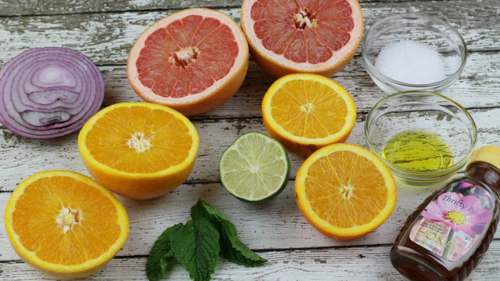 Citrus Salad Ingredients