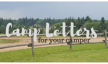 Camp letters-for your camper